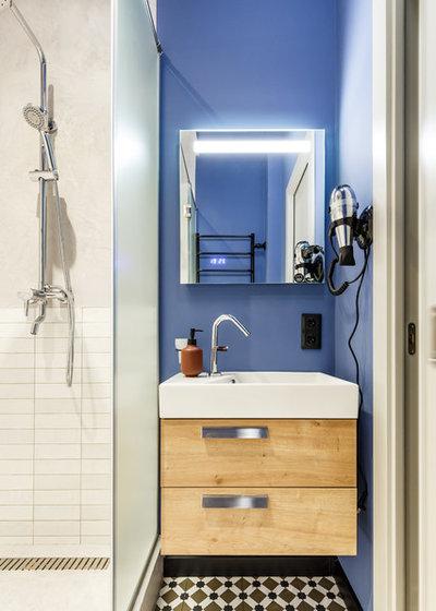 Contemporary Bathroom by Интерьерная студия AI