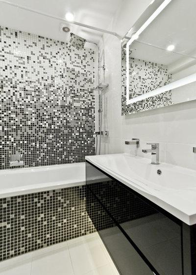 Contemporary Bathroom by Уразметов Рустэм