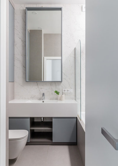 Современный Ванная комната by MAKEdesign