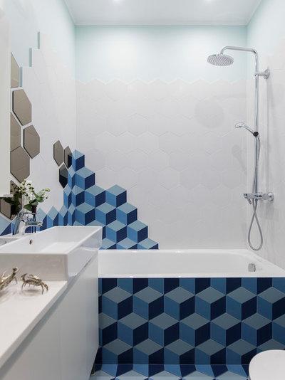 Contemporary Bathroom by TB.Design