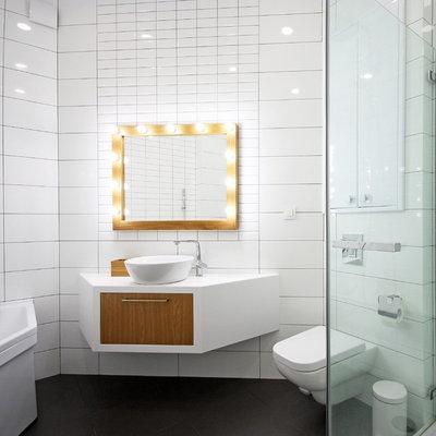 Scandinavian Bathroom by Bokarev architects