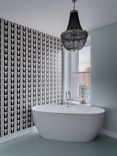 Ретро Ванная комната by propertylab+art