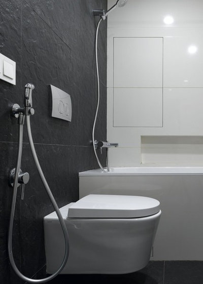 Современный Ванная комната by Архитектурная мастерская za bor