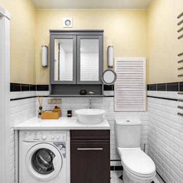 Квартира в аренду, которую сняли за один день: ванная