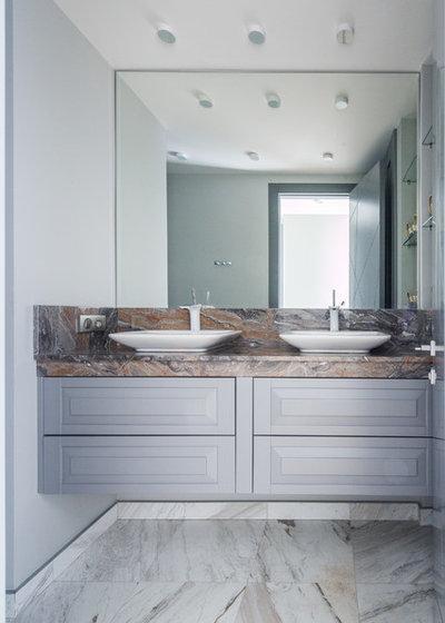 Современный Ванная комната by Мадина Выходцева
