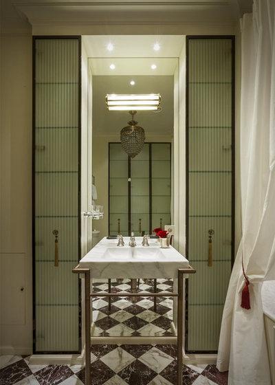 Современная классика Ванная комната by Marina Filippova Designs