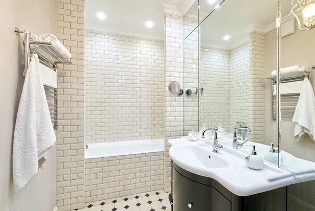 Современная классика Ванная комната by Архитектурная мастерская Елены Тимченко