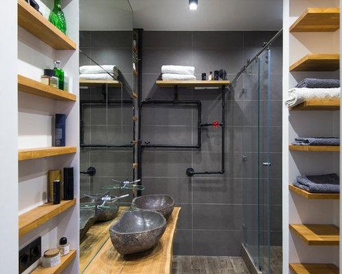 Handfat Funkis : Foton och badrumsinspiration för badrum med ett fristående