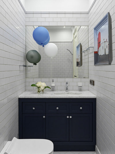 Скандинавский Ванная комната by Special-style