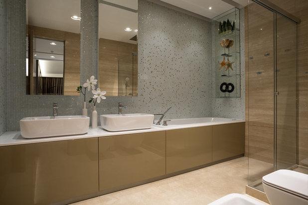 Современный Ванная комната by Архитектурное бюро LOFTING