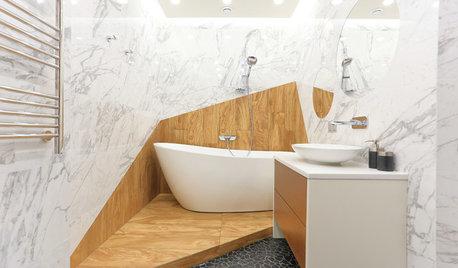 10 idées déco pour pimenter une salle de bains blanche