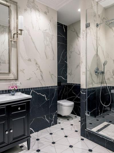 Современная классика Ванная комната by ANDdesign / Александра Дашкевич