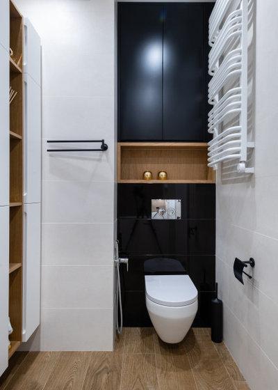 Современный Ванная комната by Студия дизайна интерьера ArtGart