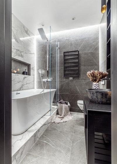 Современный Ванная комната by Demina Ksenia