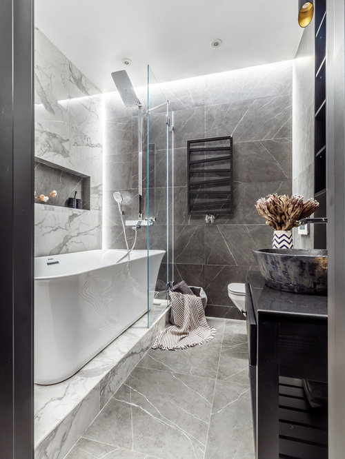 Freestanding Tub With Shower Ideas | Houzz
