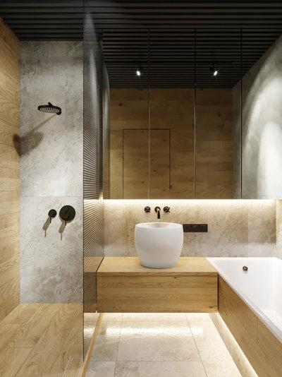 Contemporáneo Cuarto de baño by Bellas Artes