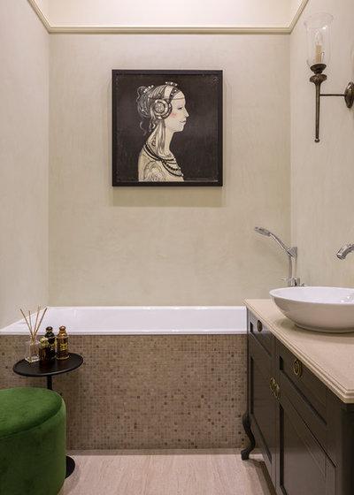 Современная классика Ванная комната by KF-DESIGN