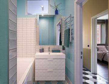 Маленькая квартира для молодого мужчины | Men's Apartment