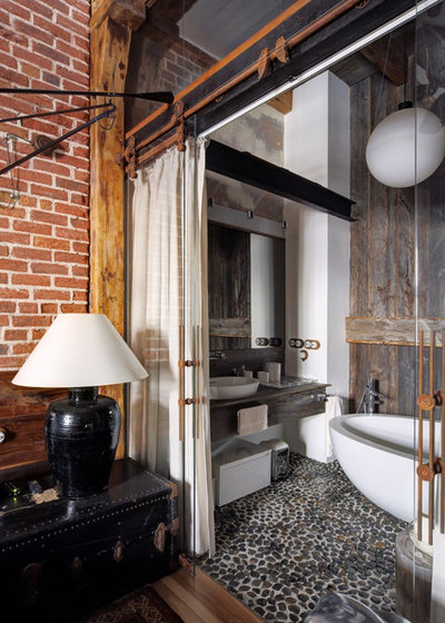 Лофт Ванная комната by Lev Lugovskoy