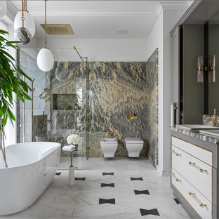 This is an example of a contemporary bathroom in Other.