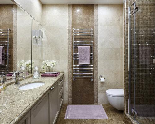 moderne duschb der mit travertinfliesen design ideen beispiele f r die badgestaltung. Black Bedroom Furniture Sets. Home Design Ideas