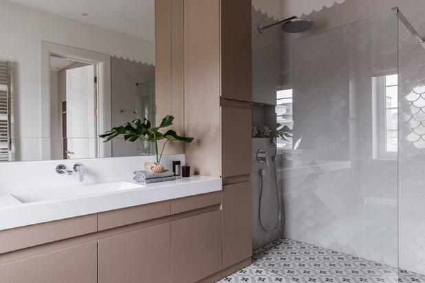 Современный Ванная комната by Анна Акопян