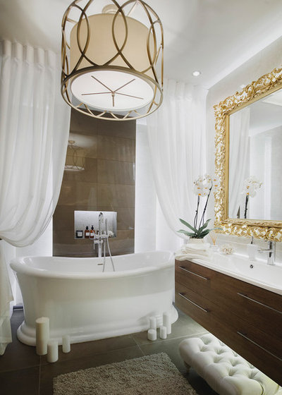 Современная классика Ванная комната by Ива Усубян / Eva Usubyan