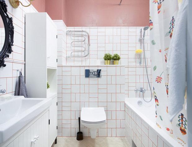 Современный Ванная комната by Бюро интерьеров Method