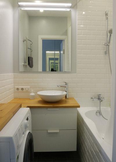Современный Ванная комната by Студия SPACE FOR LIFE