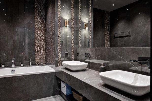 Неоклассика Ванная комната by NDVN design buro Natalie Divien