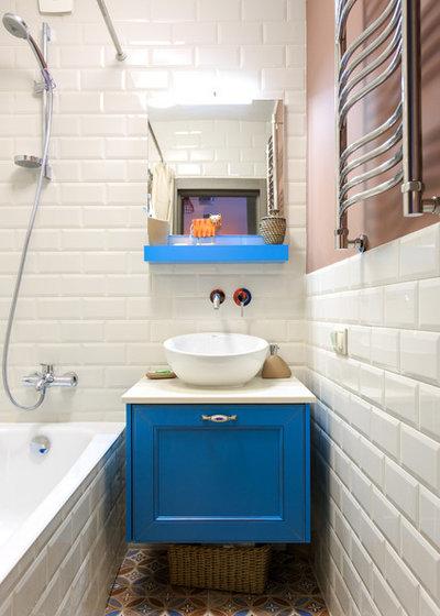 Современный Ванная комната by Студия интерьеров Jazzberry