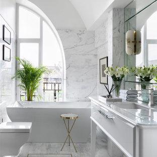 Источник вдохновения для домашнего уюта: ванная комната в современном стиле
