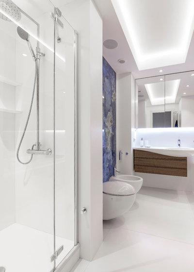 Современный Ванная комната by дизайн - студия Валерии Масловой