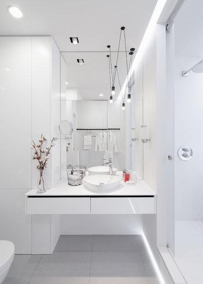 Современный Ванная комната by ID Studio