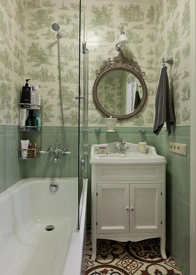 Современная классика Ванная комната by Мария Черёмухина