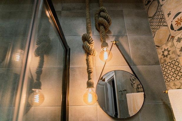 Средиземноморский Ванная комната by EgoDesign