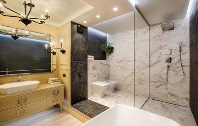 Выбор недели: 5 ванных комнат, где есть и душ, и ванна