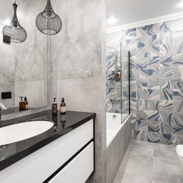 Реализованный проект квартиры 100 кв метров г.Тюмень