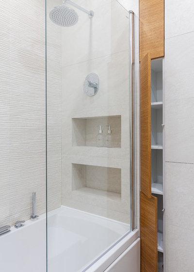 Современный Ванная комната by Сычёва Наталья