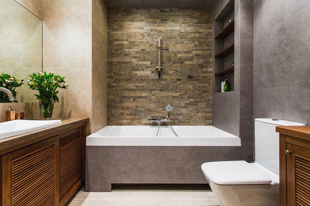 Современный Ванная комната by Юлия Баршевская
