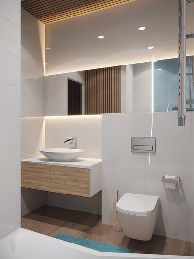 Contemporáneo Cuarto de baño by Bellas Artes