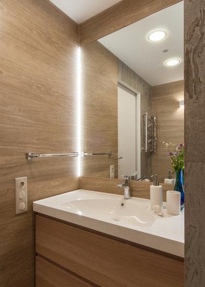 Современный Ванная комната by DESIGN FILOSOFIA