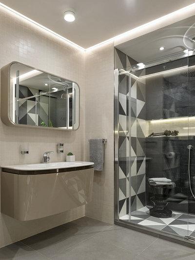 Современный Ванная комната by iPozdnyakov Studio