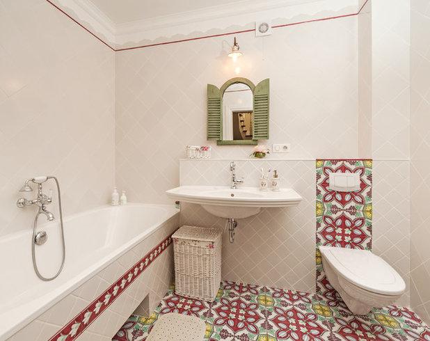 Средиземноморский Ванная комната by Дарья Харитонова