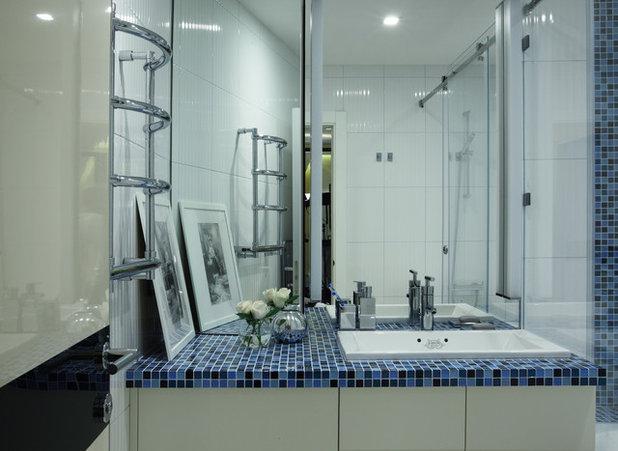 Современный Ванная комната by Юлия Кирпичева