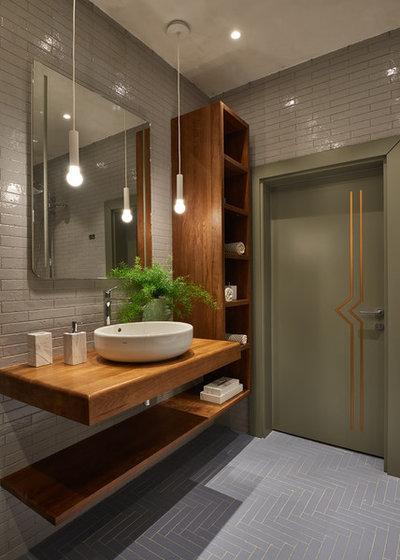 Современный Ванная комната by ЦЕНТРСВЕТ