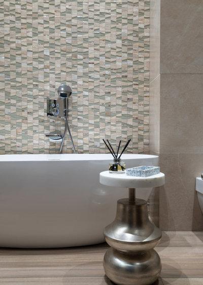 Современный Ванная комната by АЛЕКСАНДРА СЕРГЕЕВА | NOTUMPROJECT