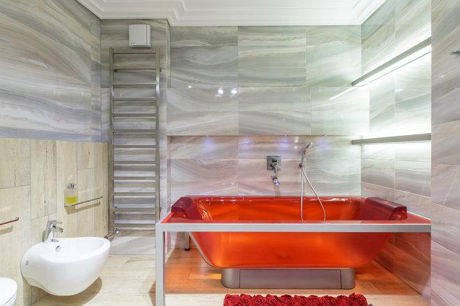 Современный Ванная комната by smaph.ru