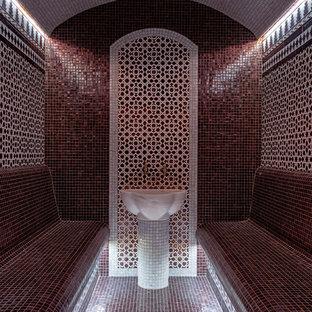 Пример оригинального дизайна: баня и сауна в восточном стиле