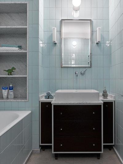 Современный Ванная комната by Лена Зуфарова